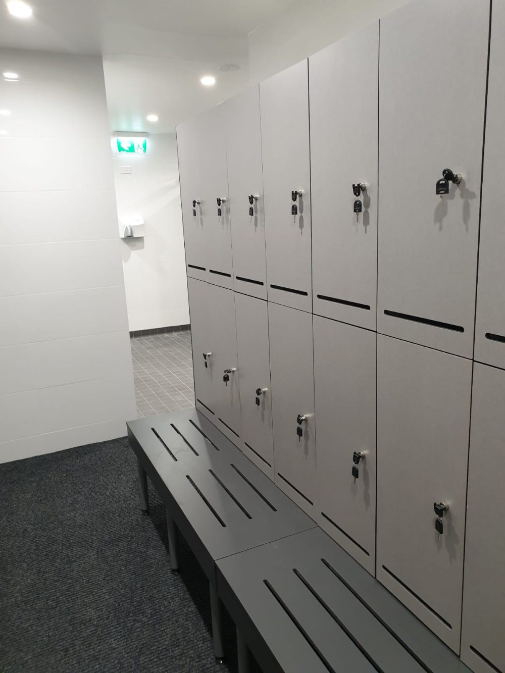 Compact Laminate Durasafe Lockers