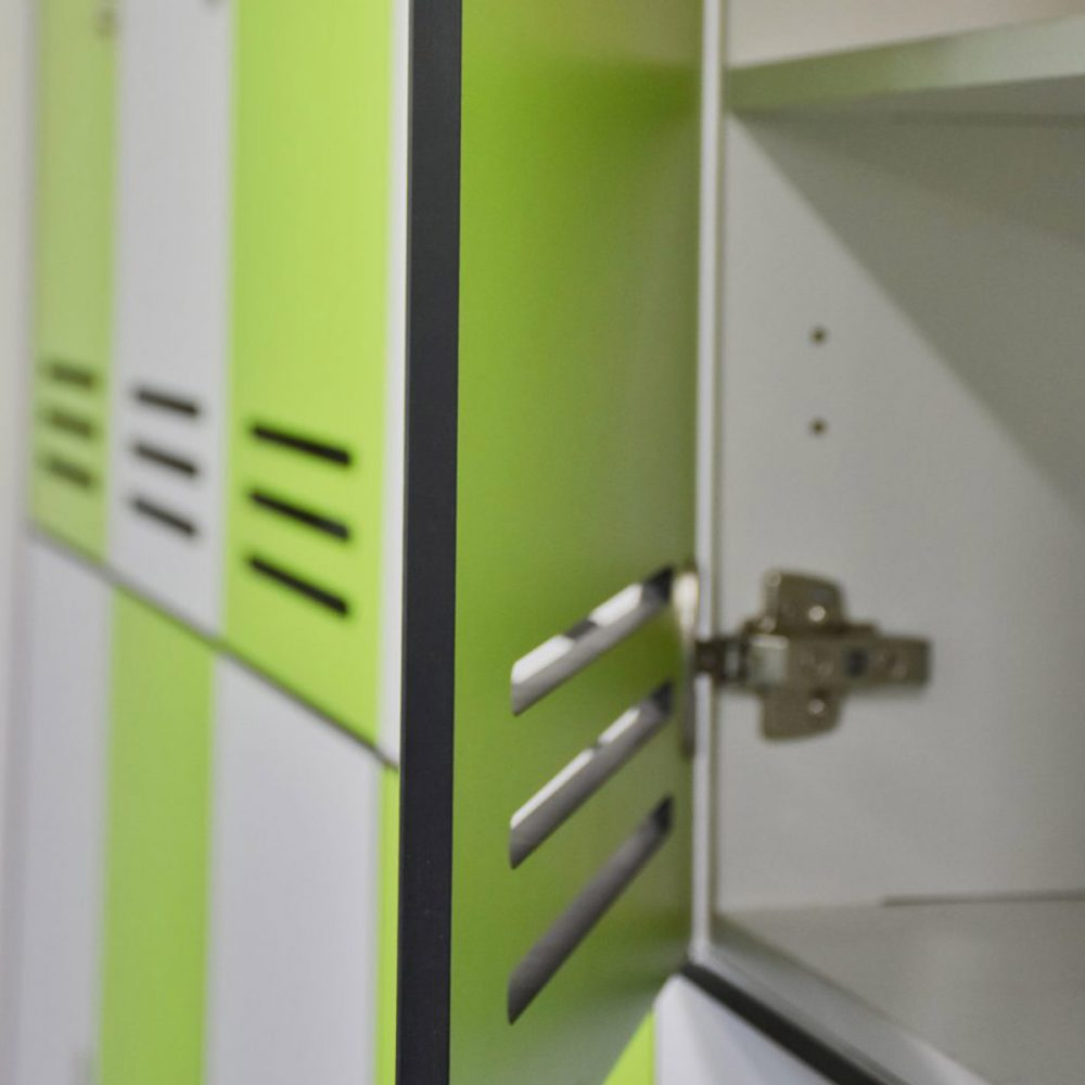 Duracube's Compact Laminate Durasafe Lockers